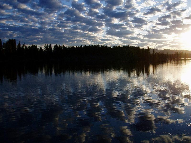 Sunrise on the Yellowstone