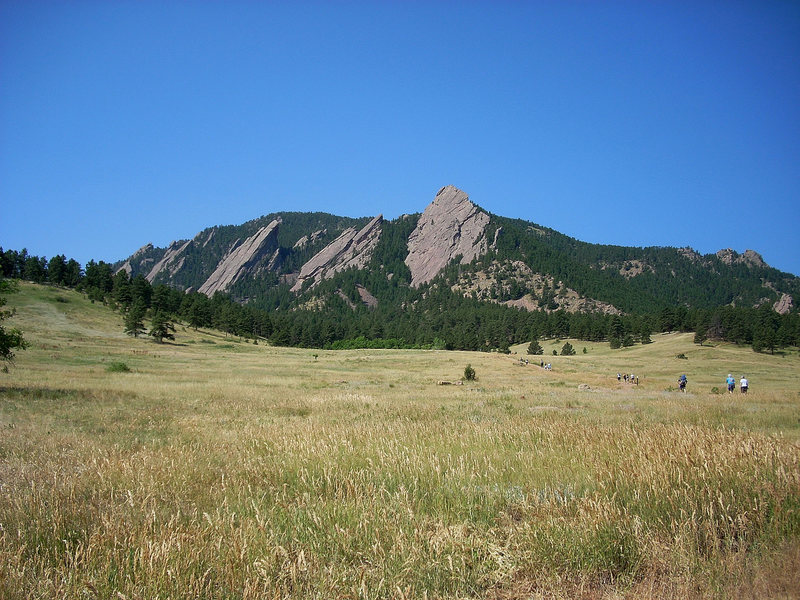 Rock Climbing Photo: Boulder Flatirons 7/12/08