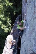 Rock Climbing Photo: Wild West Homo, July 13 '08. Photo Isaac Therneau.