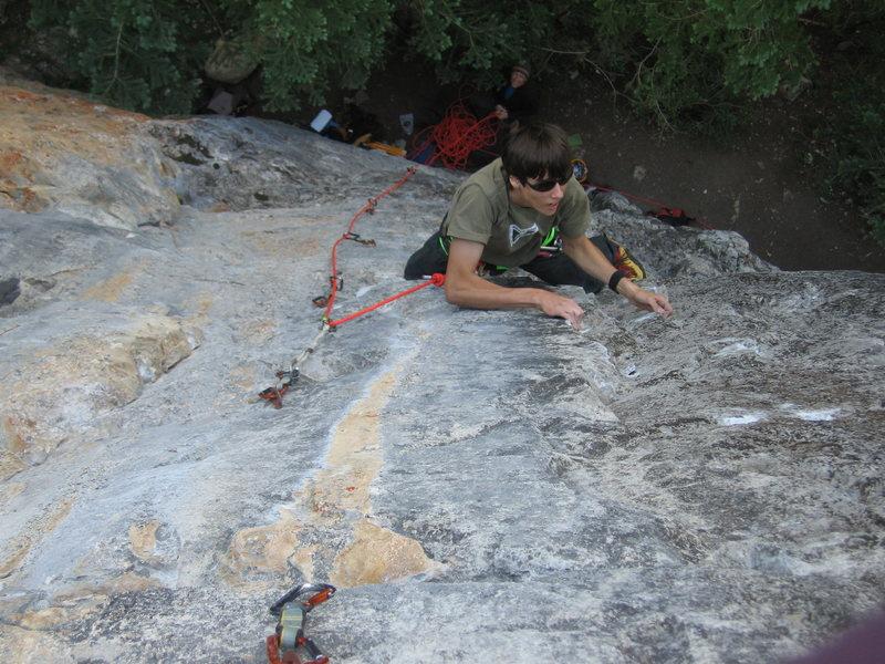 Rock Climbing Photo: Continuously cerebral climbing.