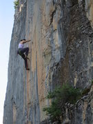 Rock Climbing Photo: Cruising the corner