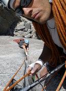 Rock Climbing Photo: hardcore...