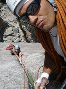Rock Climbing Photo: ...goofball