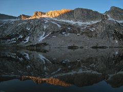 Rock Climbing Photo: Morning reflections in Young Lakes