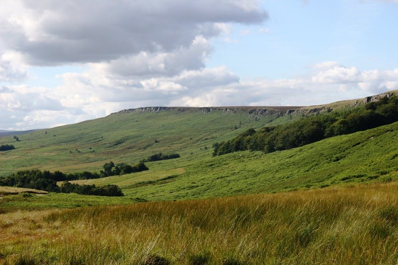 The view west from Burbage North