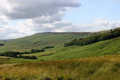 Rock Climbing Photo: The view west from Burbage North