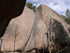 Rock Climbing Photo: Short but fun climb. Shotgun Express is to the lef...