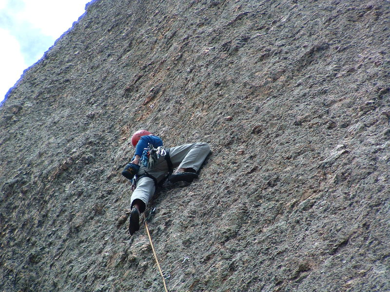 Rock Climbing Photo: 5.10 Monastery style