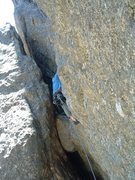 Rock Climbing Photo: Old school trad in the Needles s. dakota