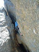 Rock Climbing Photo: Old school trad in the Needles s. dakota