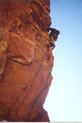 Rock Climbing Photo: climbing in Eldorado Canyon