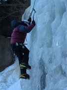 Rock Climbing Photo: a little ice in RMNP