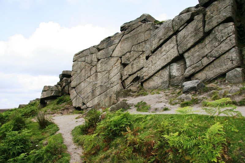 Rock Climbing Photo: Little Wall, Burbage North