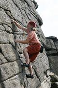 Rock Climbing Photo: Enjoying perfect jams on Twenty Foot Crack