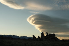 Rock Climbing Photo: The proverbial Sierra Wave breaking over the crest...