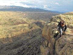 Rock Climbing Photo: Utopian Vistas entrance