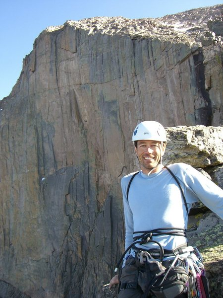 Rock Climbing Photo: Tony
