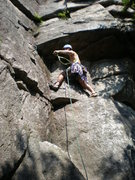 Rock Climbing Photo: Te Dum Pitch 1