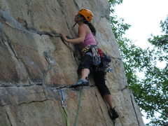 Rock Climbing Photo: Disney Land Pitch 1