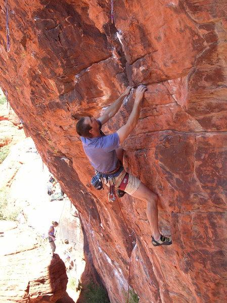 Sport line in Red Rocks