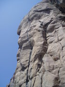 Rock Climbing Photo: Sort of a side view of the top of Bone Crusher.