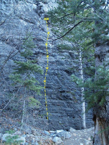 Rock Climbing Photo: Half Pint 5.7