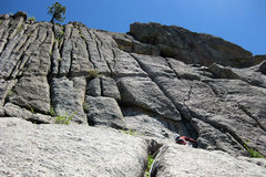 Rock Climbing Photo: If you go right instead of left at the top of the ...