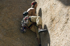 Rock Climbing Photo: This climber from Golden was tearing up the first ...