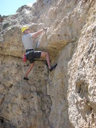 "Rock Climbing Photo: Brice floating the roof on ""More Funky Than G..."