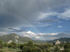 Rock Climbing Photo: Rainbow @ the City