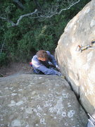 Rock Climbing Photo: Should have worn flannel...