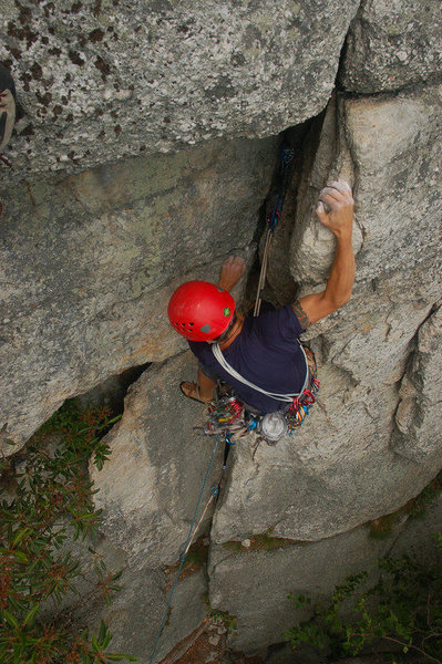 Josh Byford in the midst of the Wisecrack crux.