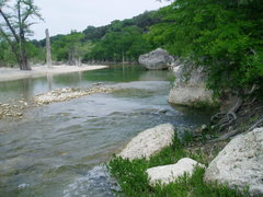 Rock Climbing Photo: The Medina also offers fine crawfish catching to t...
