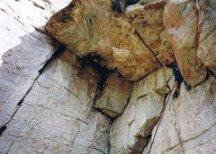 Rock Climbing Photo: Easier than it looks....