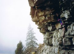 Rock Climbing Photo: Typical shale start....