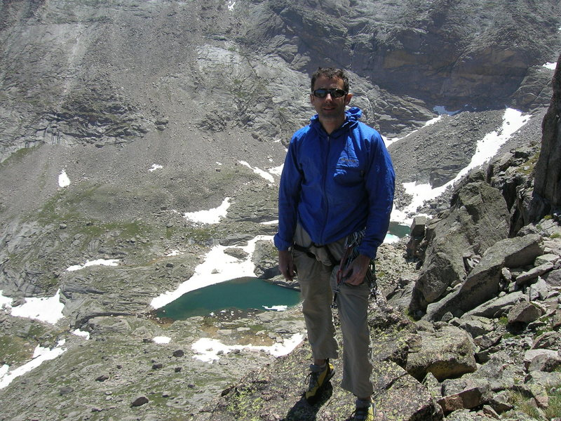 Rock Climbing Photo: Spearhead summit