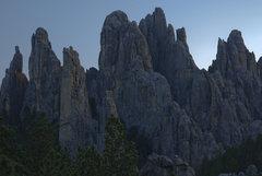 Rock Climbing Photo: Spires