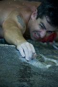 Rock Climbing Photo: Ian getting it on.