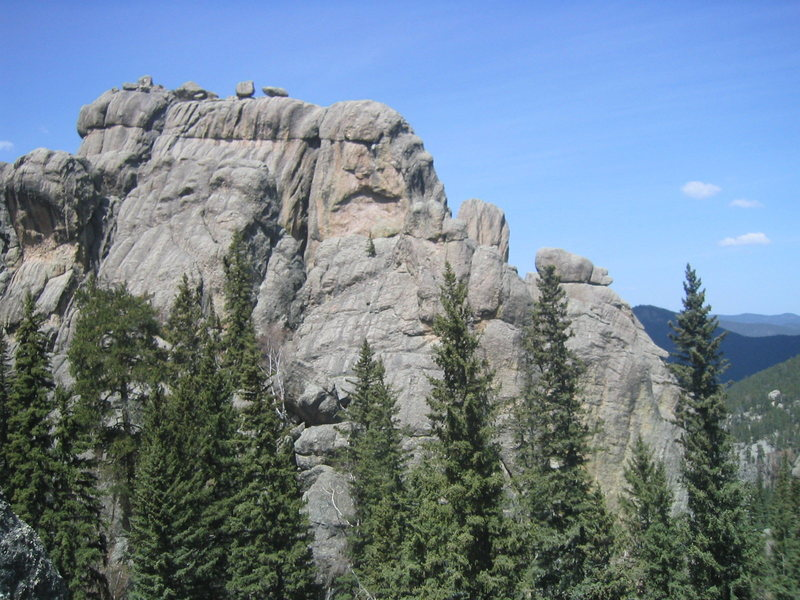 Rock Climbing Photo: Outer Outlet, Custer State Park