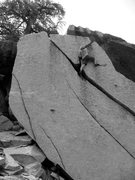 Rock Climbing Photo: Past the pod and way up there on Ride the Lightnin...