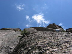 Rock Climbing Photo: pear buttress lumpy