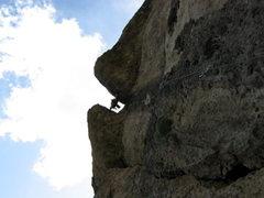 Rock Climbing Photo: ten sleep beer bong