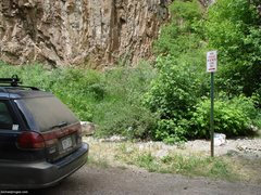 Rock Climbing Photo: I took this photo at the Feline Parking lot. This ...