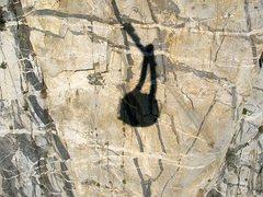 Rock Climbing Photo: Tram shadow, Tramway