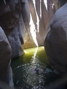 Rock Climbing Photo: very very cold water
