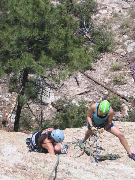Rock Climbing Photo: concentrating...