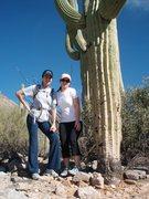 Rock Climbing Photo: Playing around in the desert.
