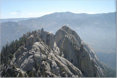 Rock Climbing Photo: View of the Needles, CA