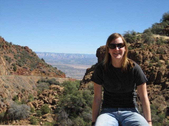Rock Climbing Photo: 89A into Jerome