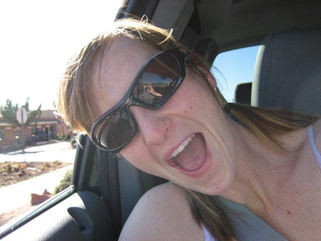 Rock Climbing Photo: Happy in the sun, AZ!